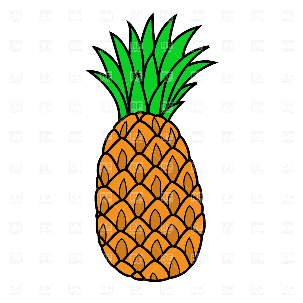 clip art free download Free cliparts download clip. Pineapple clipart