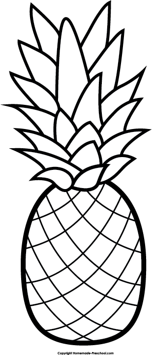 clipart royalty free download Rainbow clipart free black and white. Pineapple clip art hair