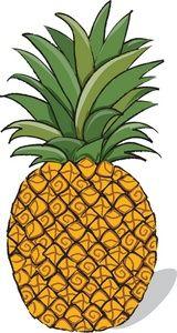 clipart freeuse download Pineapple clipart. Free hawaii hawaiian clip