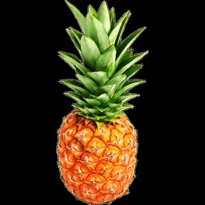 jpg transparent stock Pineapple Top Sliced transparent PNG