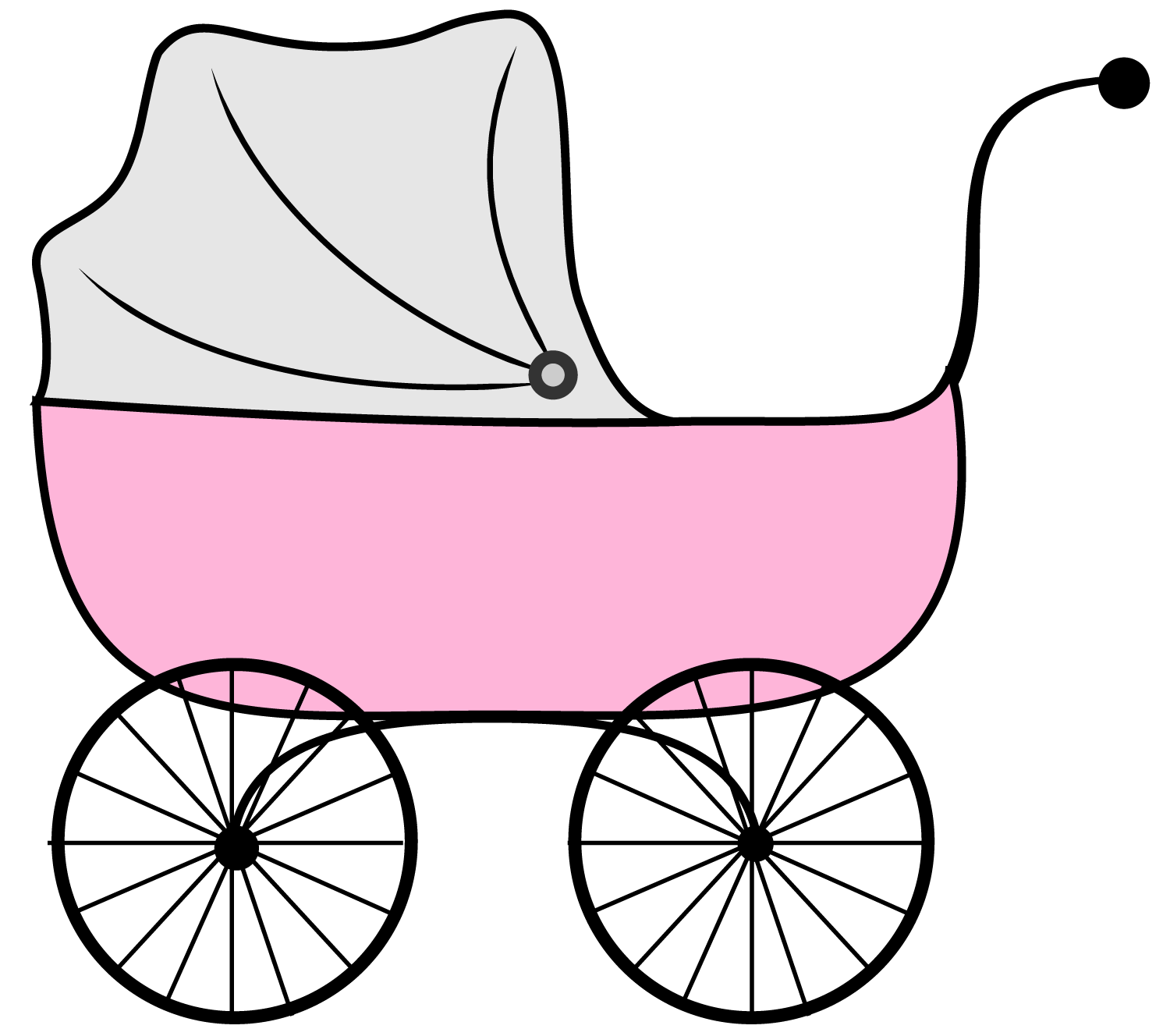 png free library Vector baby stroller. Booties clipart at getdrawings