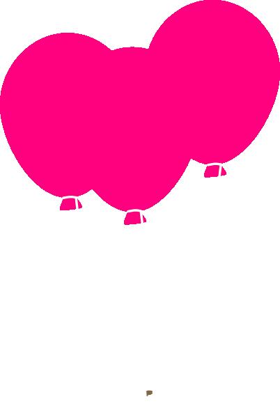 image royalty free stock Balloons clip art at. Vector balloon pink