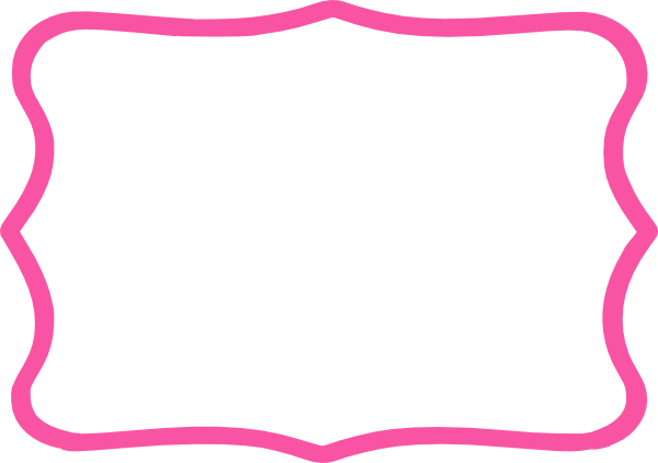 graphic royalty free download Pink borders clipart. Frame hot clip art