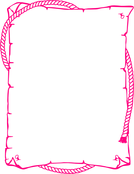 banner freeuse download Pink borders clipart. Western border clip art