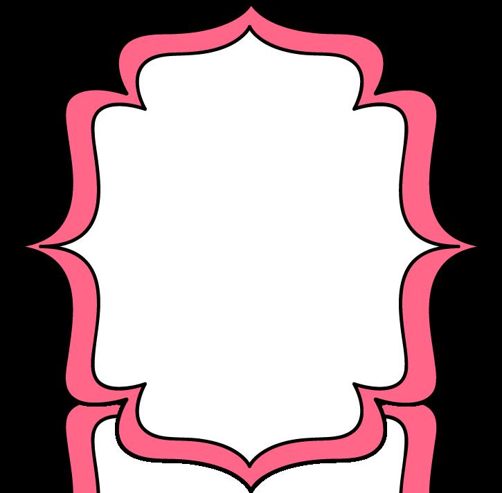 jpg freeuse download Full page pink double. Svg frames bracket