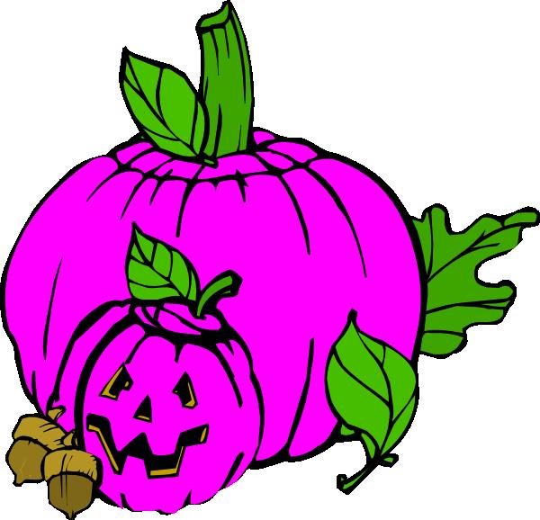 svg freeuse library Pumpkin dina fall clip. Pink clipart halloween