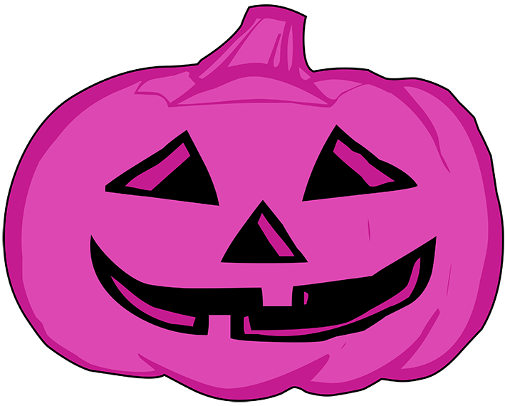 clipart free library Pink clipart halloween. Transparent free for