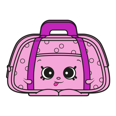 clipart free stock Olive overnight shopkins wiki. Pink clipart sleeping bag.