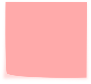 graphic freeuse library Pink clipart sticky note. Clip art at clker