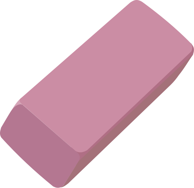clipart freeuse library eraser transparent plain #96265466