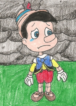 svg library library Pinocchio drawing sad. Dream guardian by loudkfan
