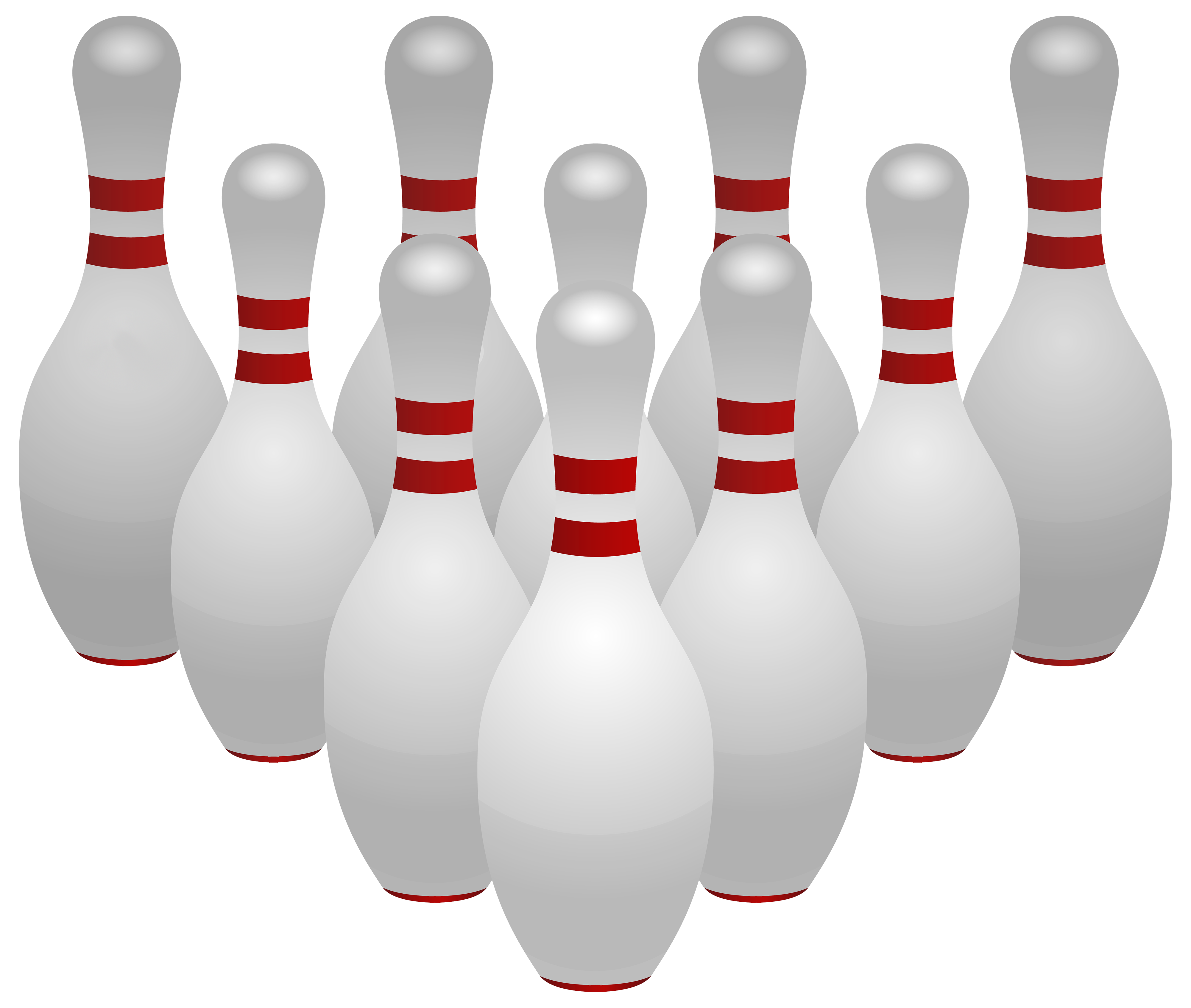 clip freeuse Bowling Pins PNG Clipart