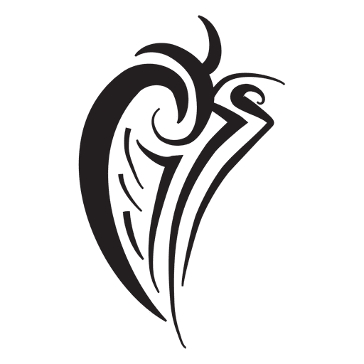 svg download Isolated tribal wing pinstripes