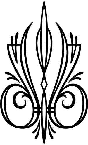 jpg freeuse library Western Style Pinstripe Decal