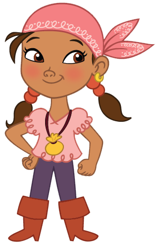 banner transparent Izzy . Pirate clipart.