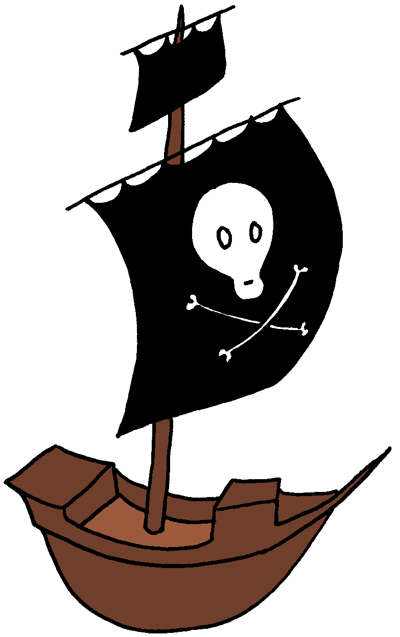 image black and white library Boat svg comic. Image result for pirate