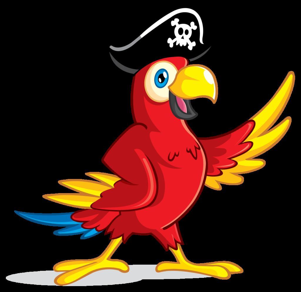 clip art transparent Pirate Parrot PNG Transparent Image