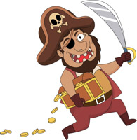 library Free clip art pictures. Pirates clipart