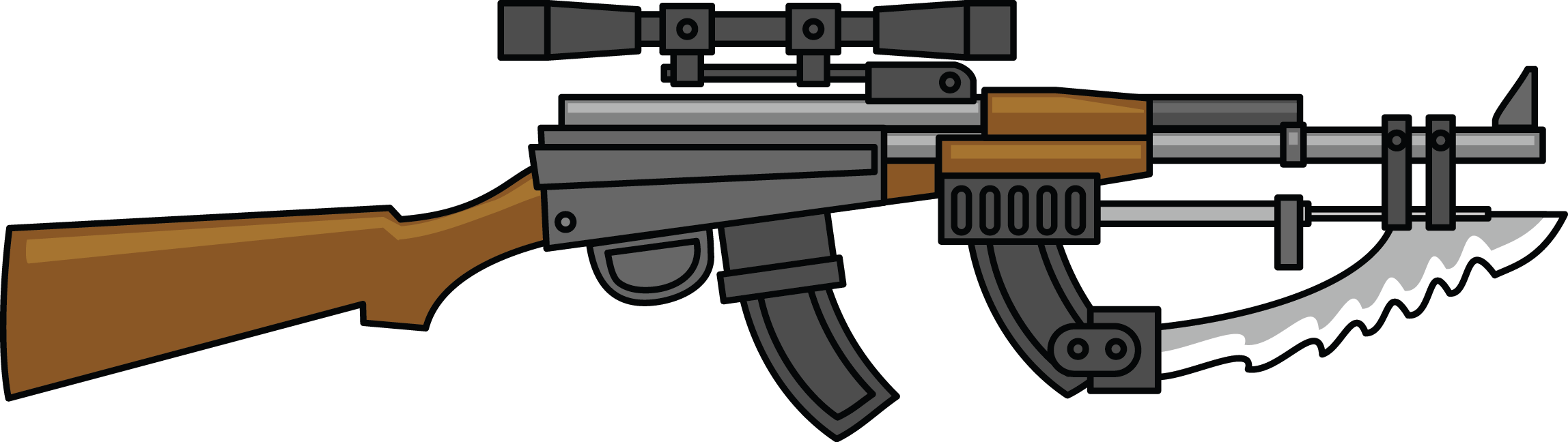 clip art transparent stock Cartoon free download best. Army gun clipart
