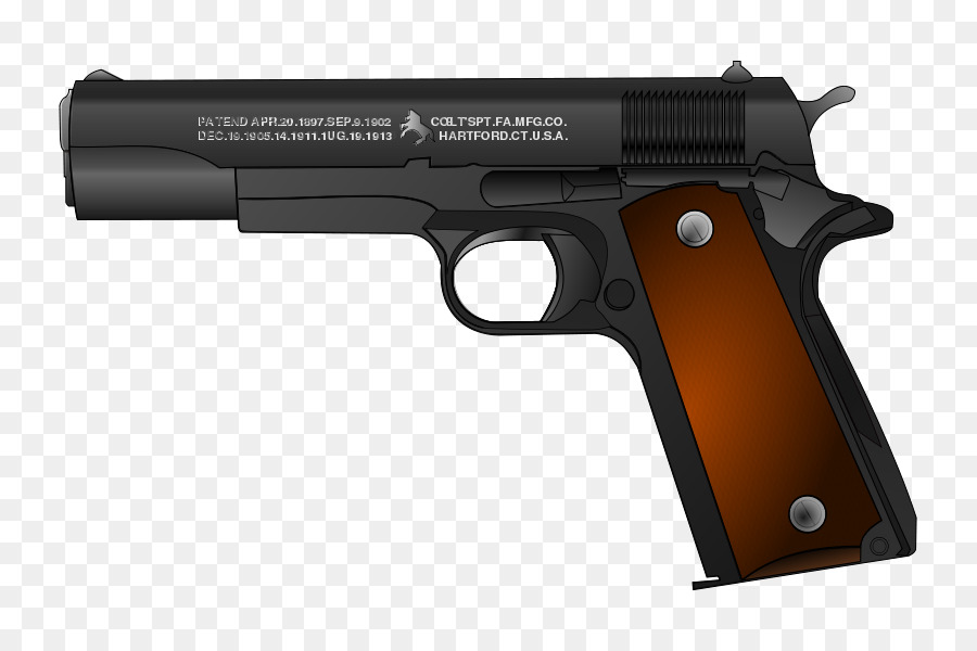 image download 1911 clip transparent. Gun cartoon clipart magazine