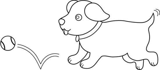 picture library library Pets Clipart outline