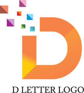 png library Alphabet D Pixel Logo Vector