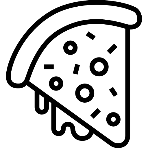 picture transparent pizza svg flat icon #101383973