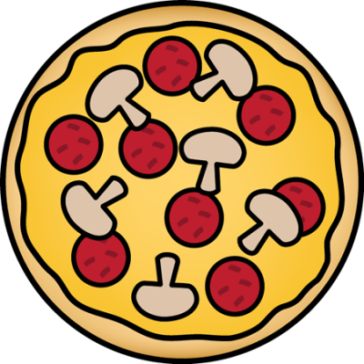 banner Clipartaz free collection with. Pizza border clipart