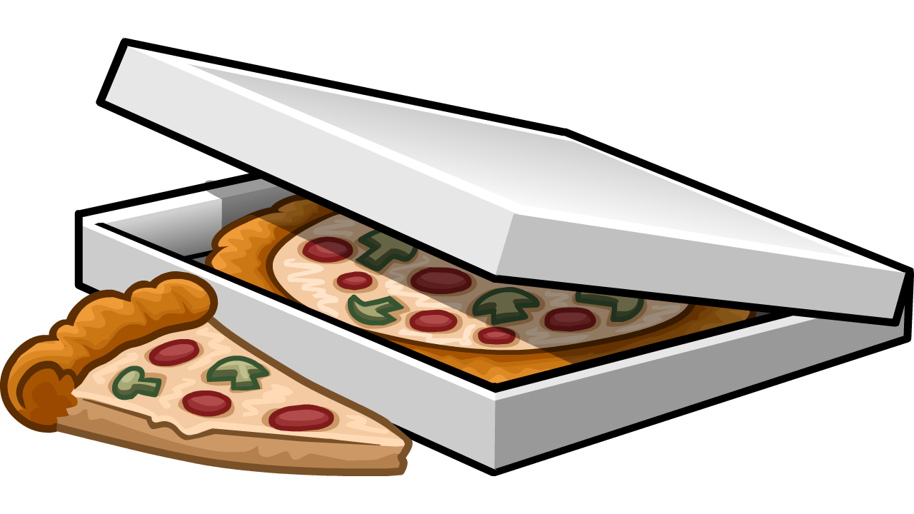 image transparent Image of png club. Pizza box clipart