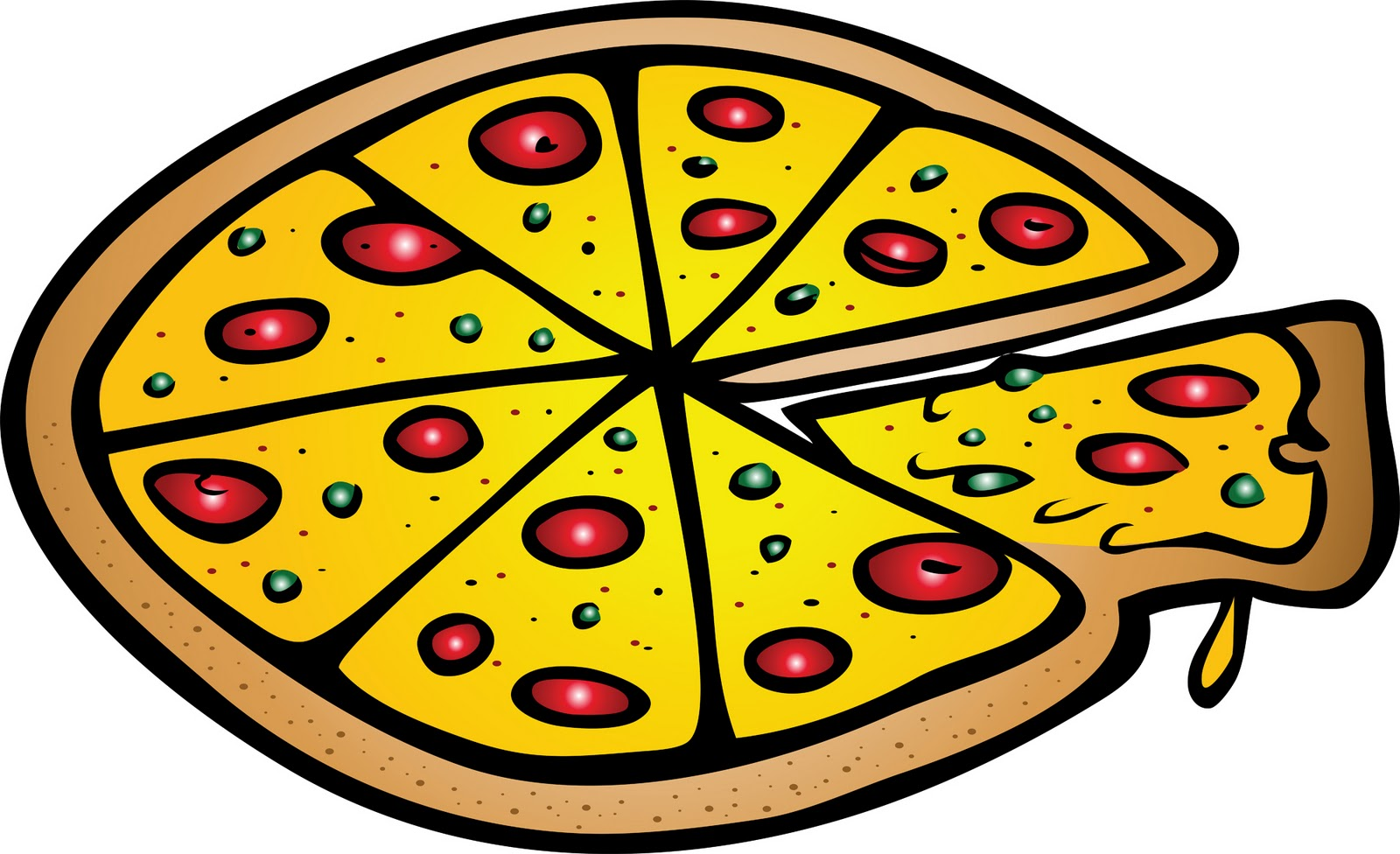 banner free stock Pizza clipart. Best clipartion com