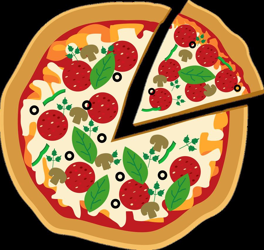 clip art library Pizza clipart. Luh happy s profile