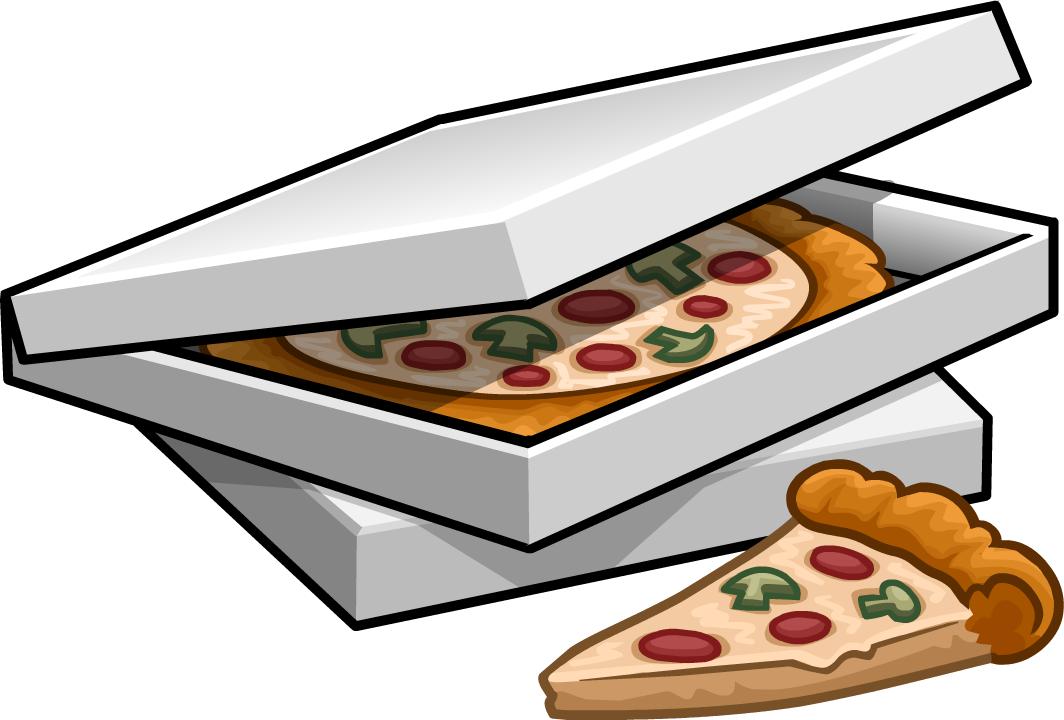 jpg vector pizza in box #108231373