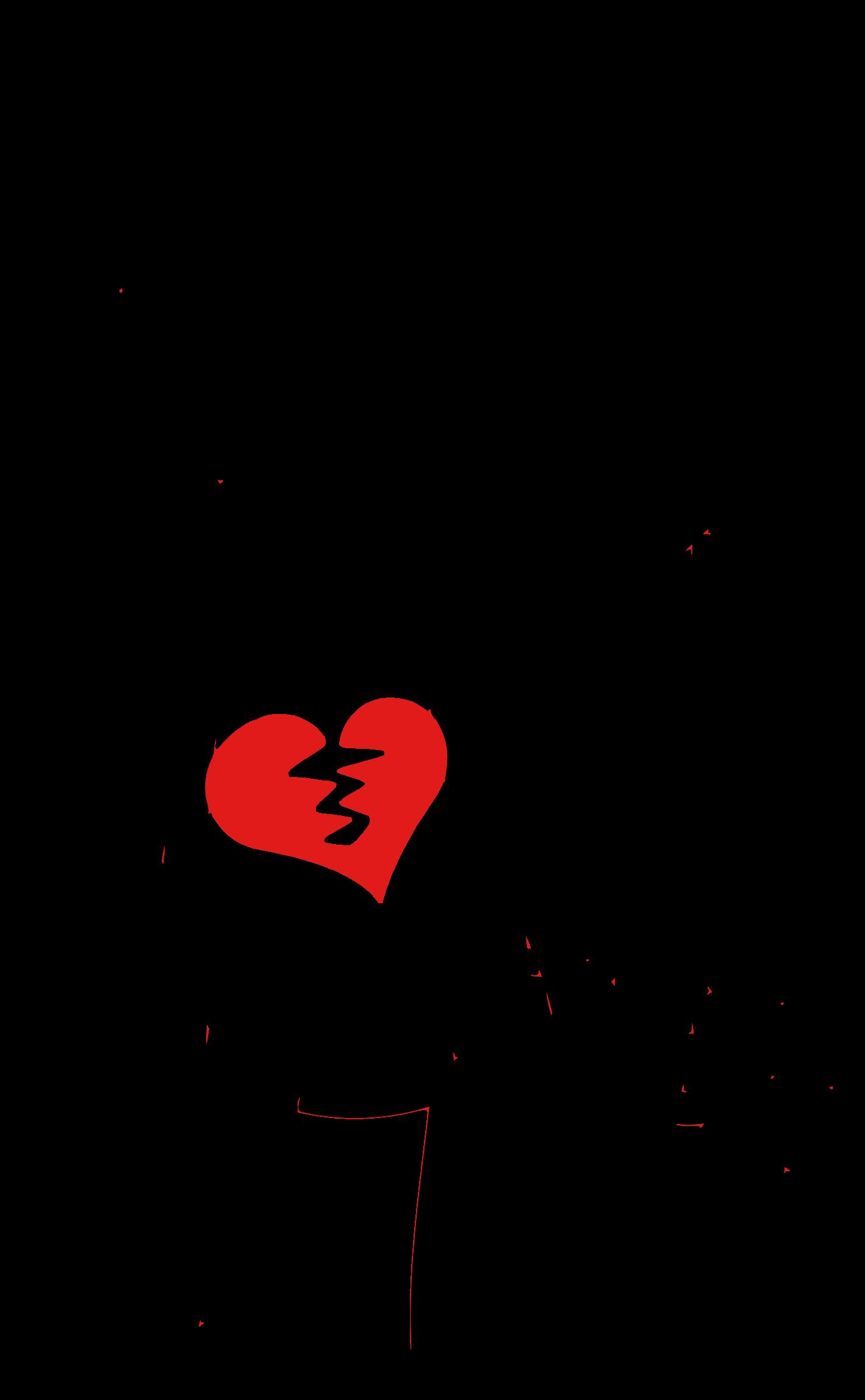 image transparent Broken Heart Clipart