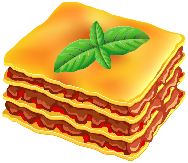clipart library stock Food Clipart Lasagna Free collection