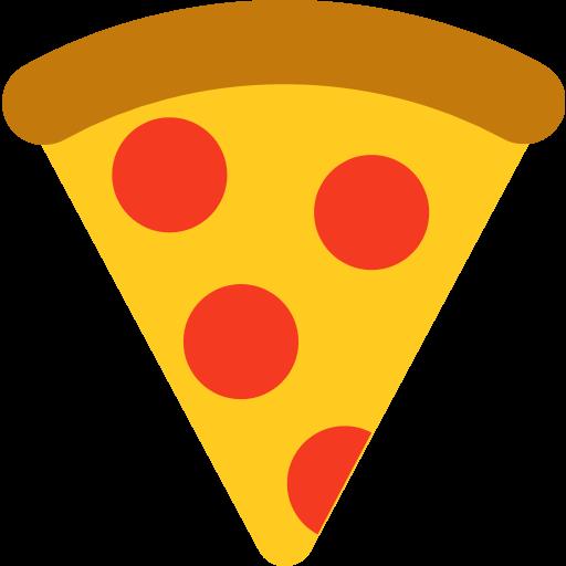 clip transparent stock Slice Of Pizza Emoji for Facebook