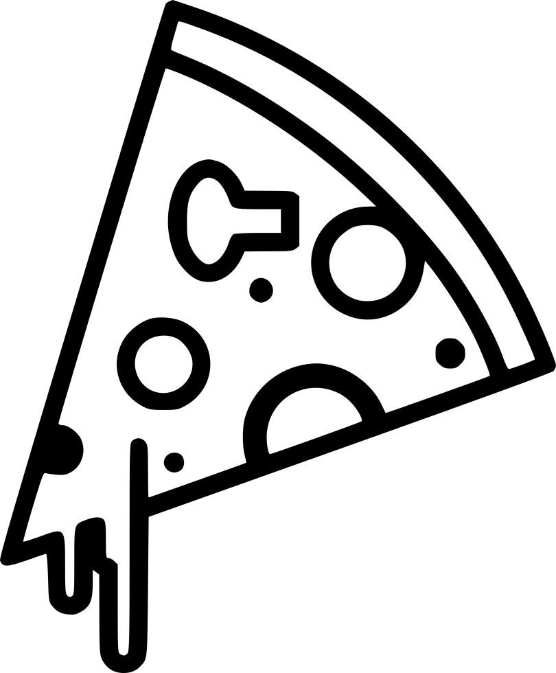 image black and white download Pizza Svg Png Icon Free Download
