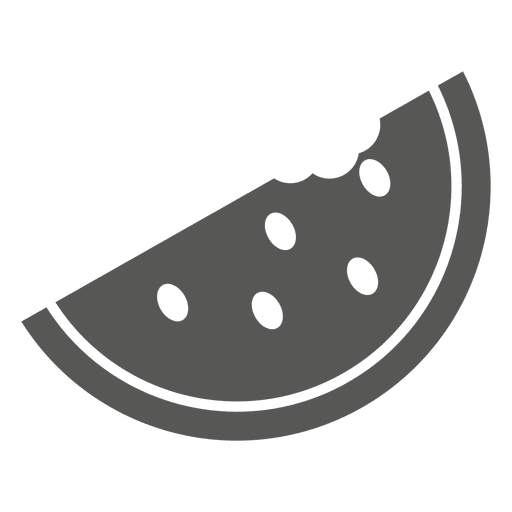 png download Half sliced watermelon pizza icon