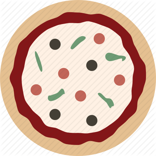 vector library stock pizza svg whole #101385453