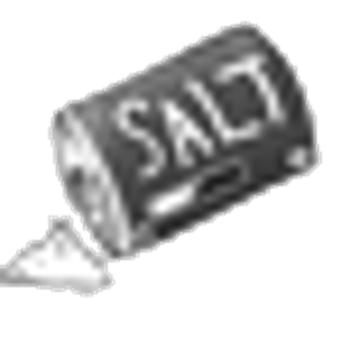 graphic black and white Salt emote png