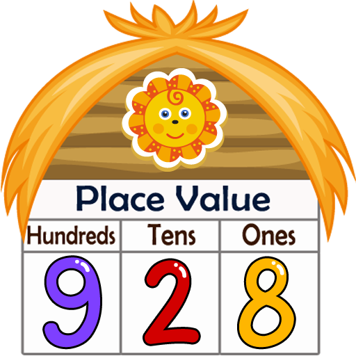 jpg black and white download Kids Math Place Value