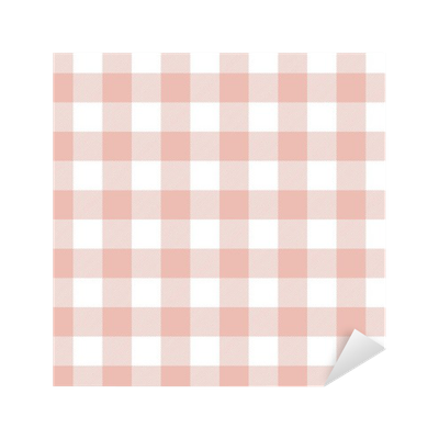png transparent checkered table cloth background Sticker