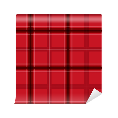 clipart black and white stock Red Christmas Plaid Seamless Pattern Wallpaper