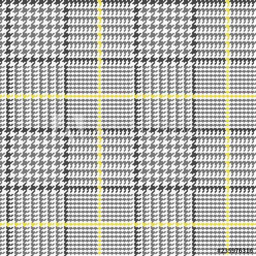 banner transparent download Glen pattern in grey. Houndstooth vector plaid.