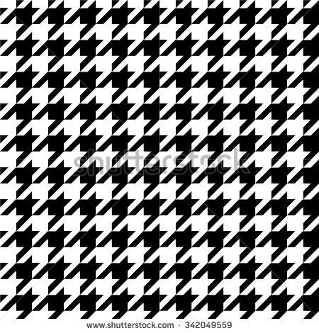png free download Vector clothing pattern. Houndstooth tweed