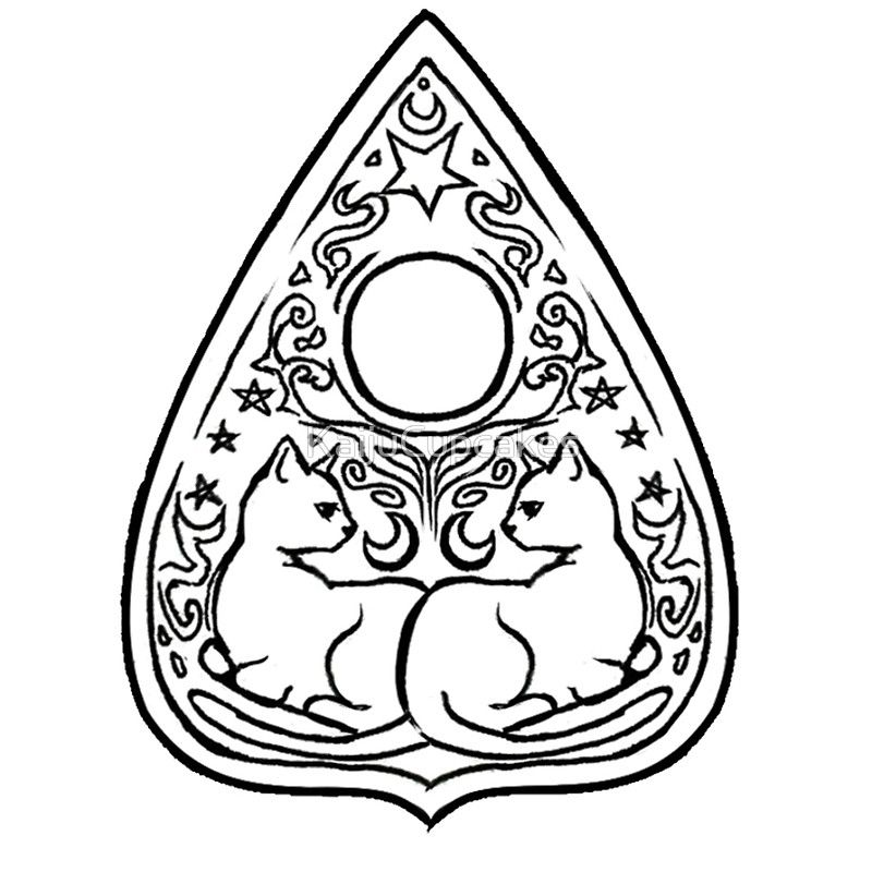 graphic black and white stock Image result for planchette designs