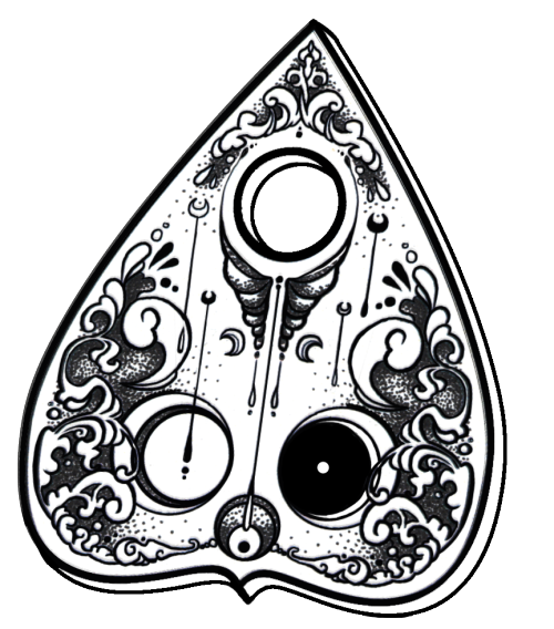 picture free stock ouija planchette tattoo