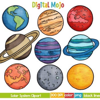 png transparent library Solar system clipart. And planet .