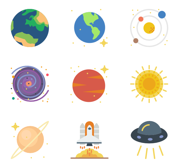 svg freeuse download planets vector #87549415