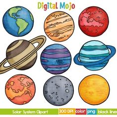 image transparent library Planeten clipart. Free download on webstockreview