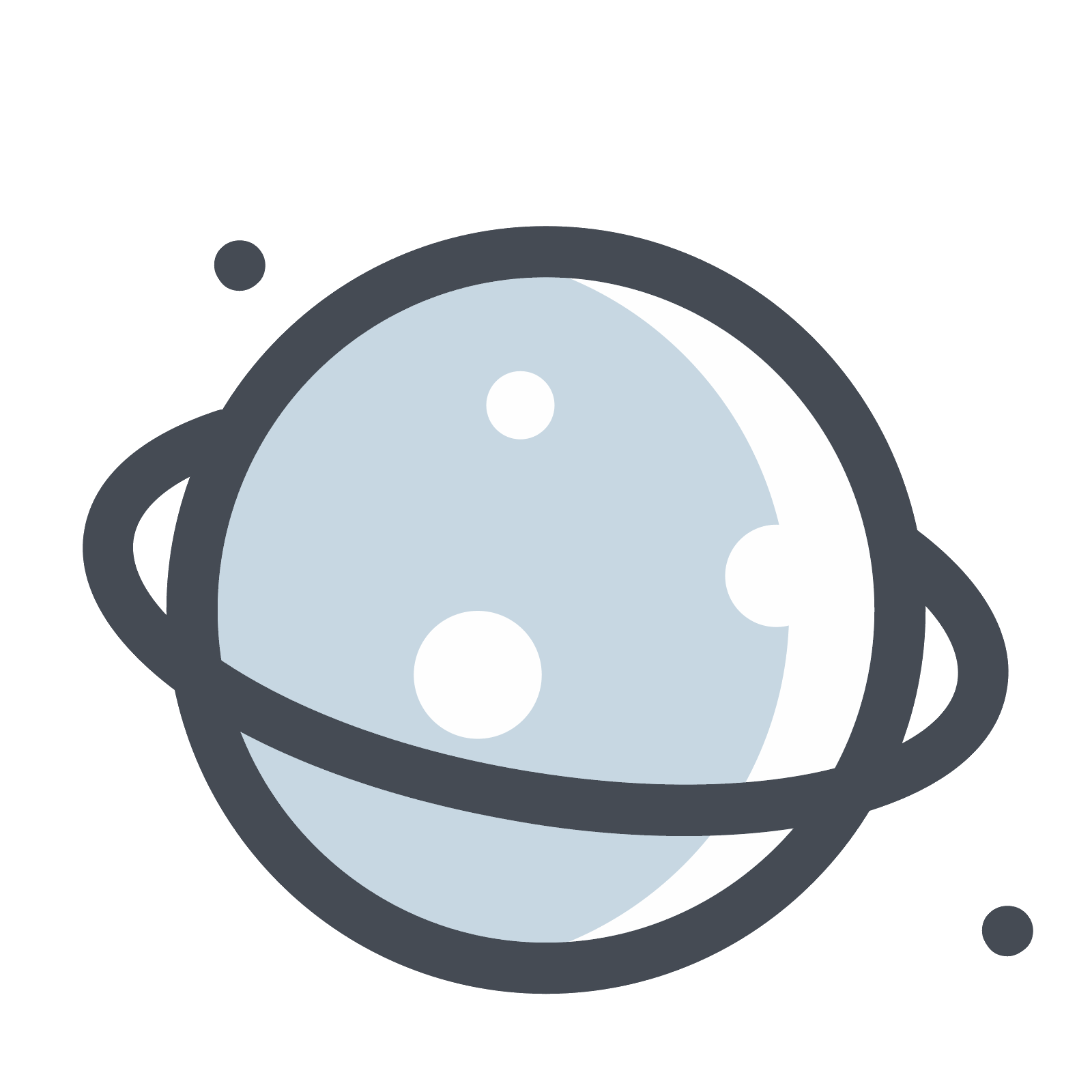 clipart freeuse download Planets vector. Planet on the dark.